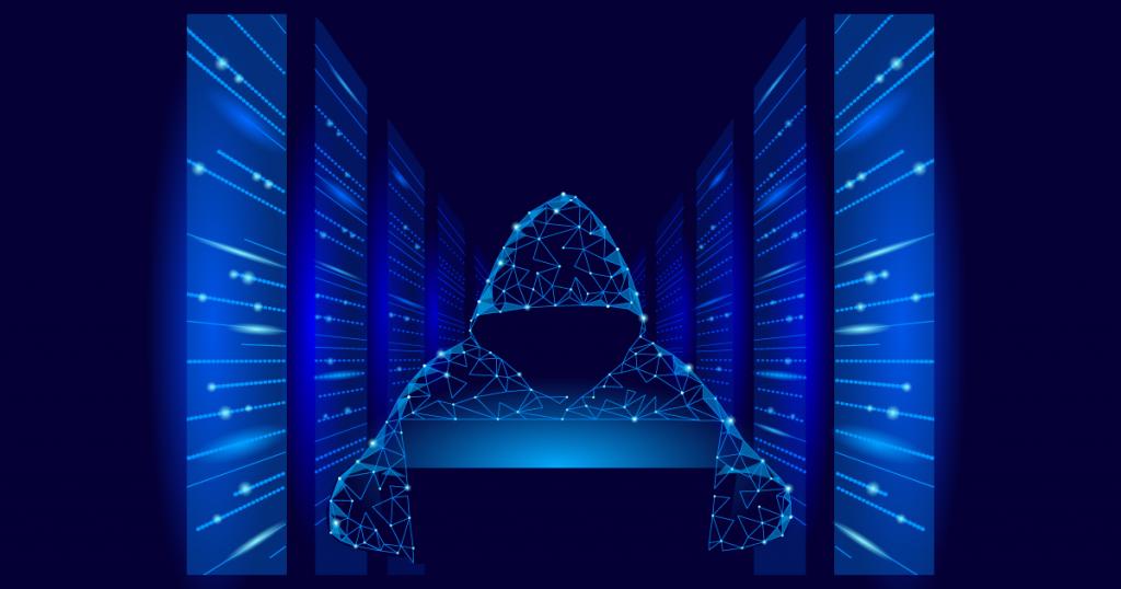 holographic hacker using a botnet