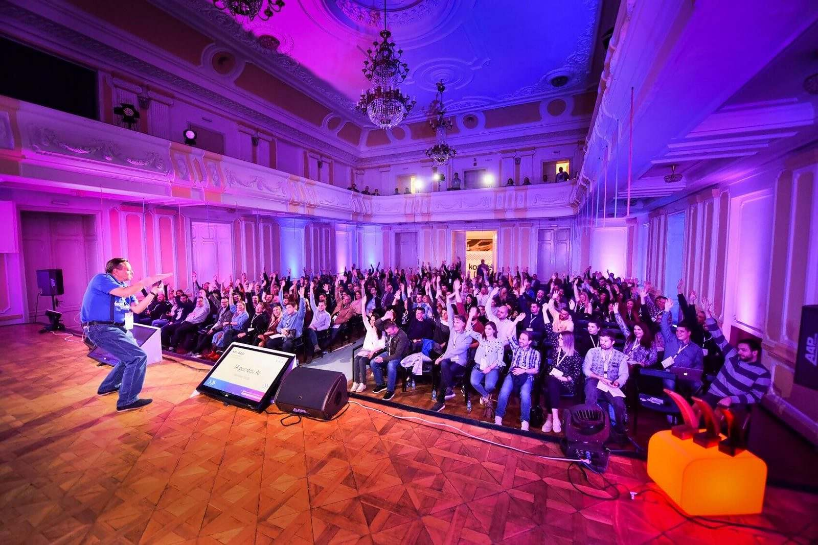 keynote speaker at Konverzija conference