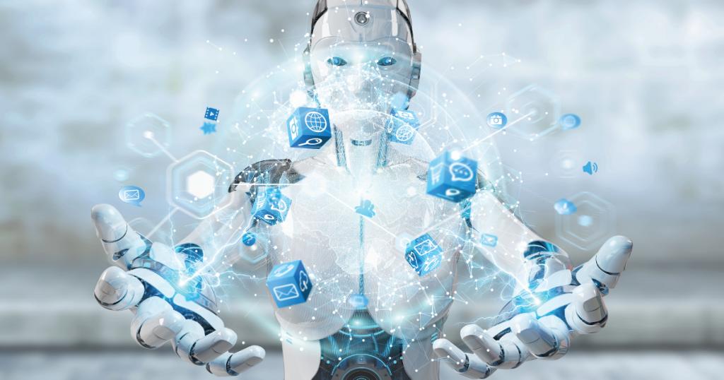 robot controlling traffic