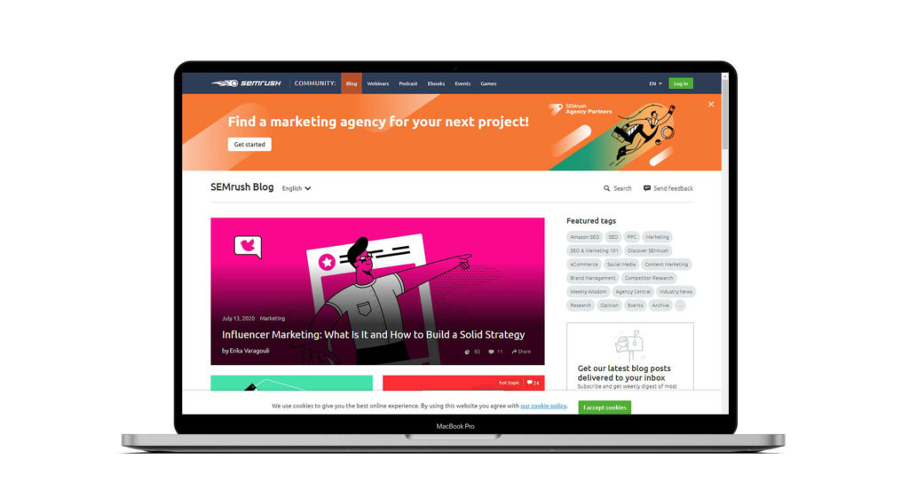SEMRush is a good centre of resources for your PPC journey. A all around great PPC Blog to find quality resources and authentic value from multiple different writers.