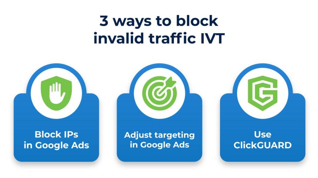 3 ways to block invalid traffic IVT