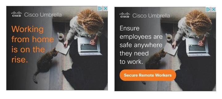 cisco google display ads banner