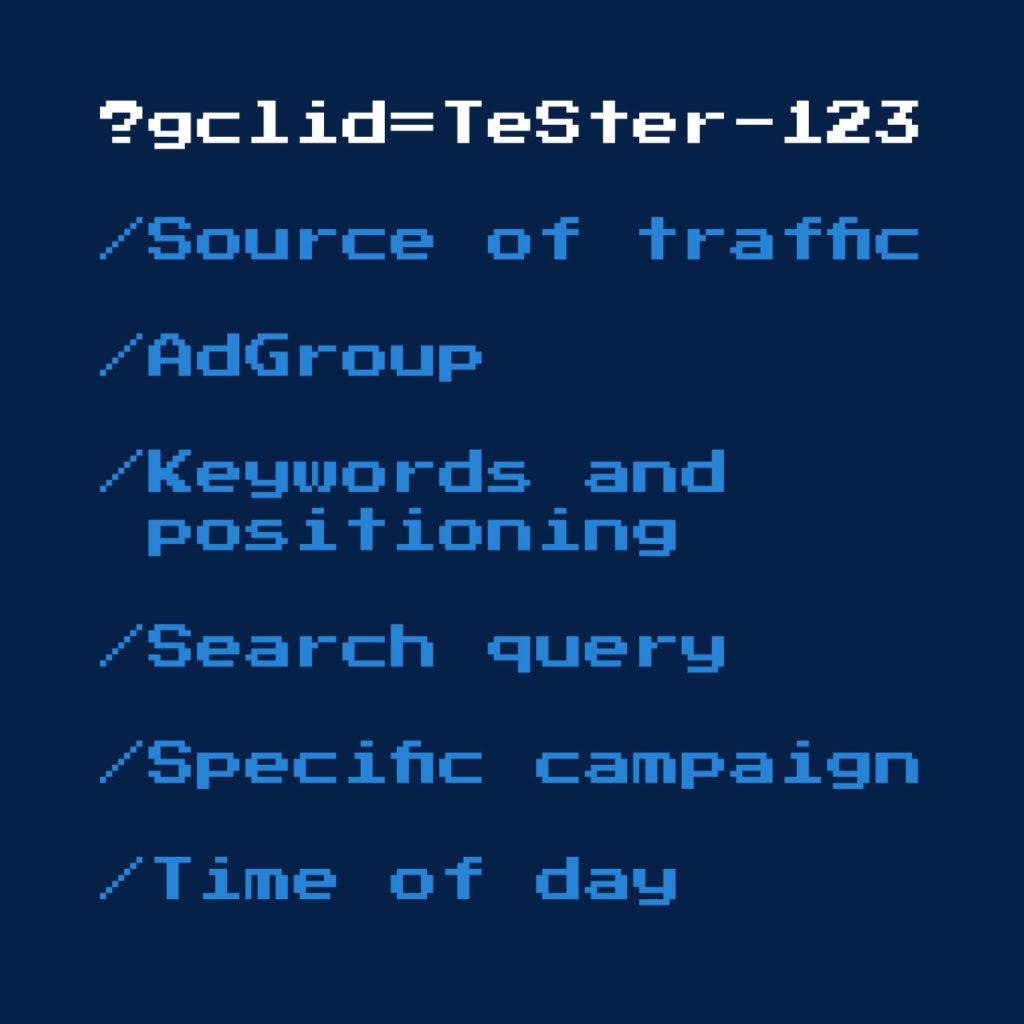GCLID metrics