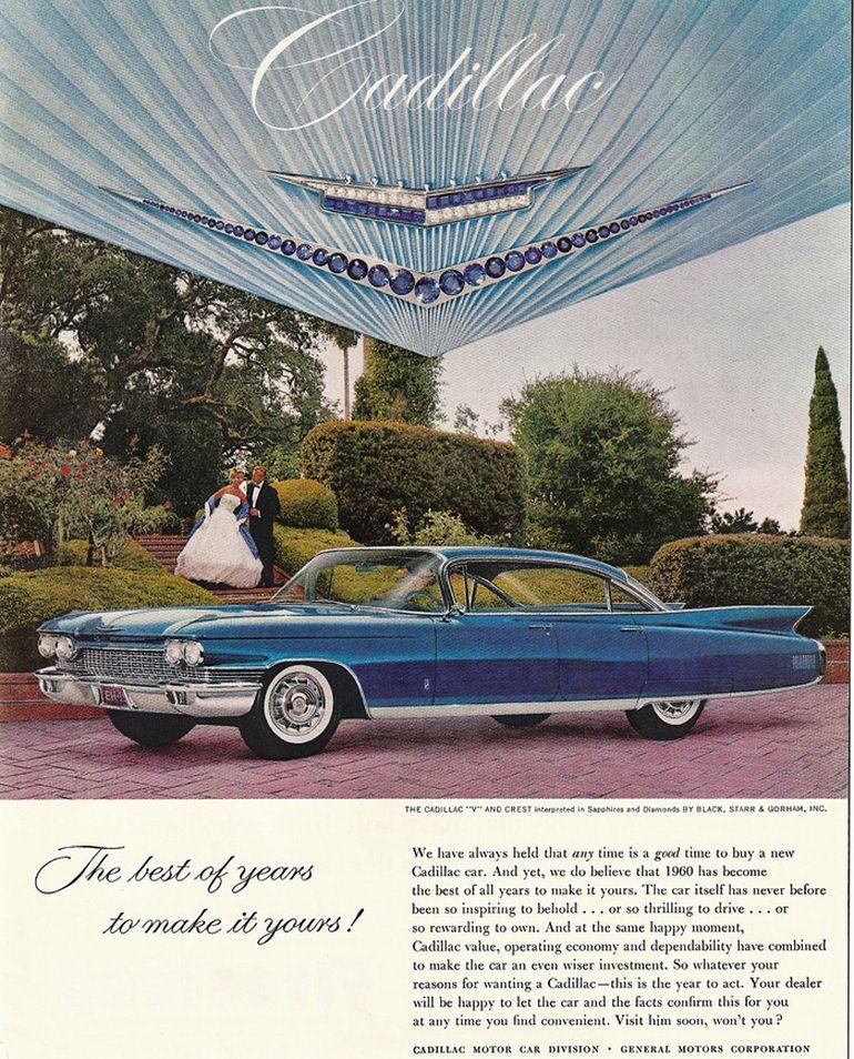1960s Cadillac Ad
