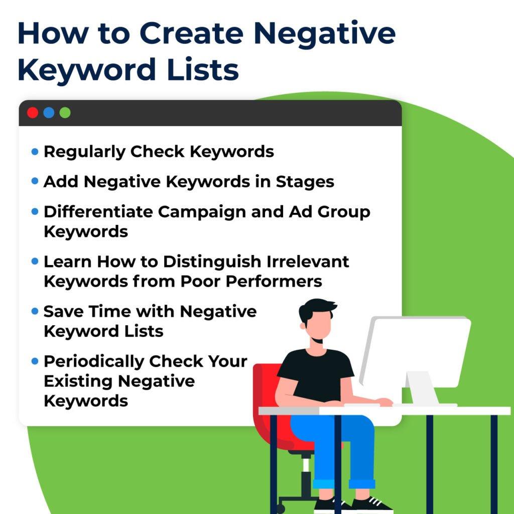 negative keyword list tips