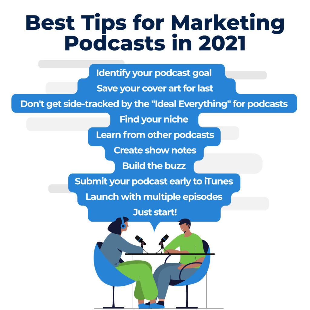 marketing podcast tips