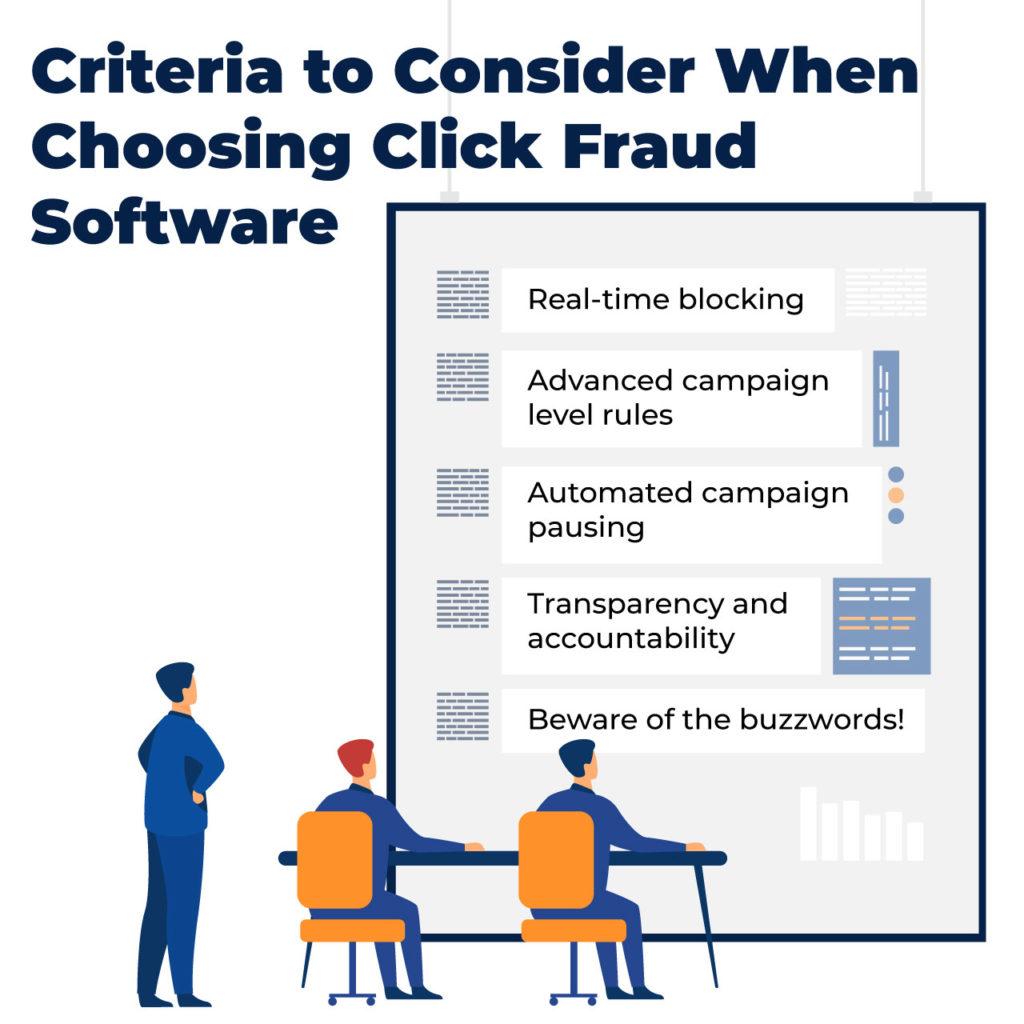 criteria for click fraud software