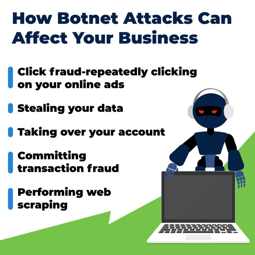 how botnet attacks affect your business