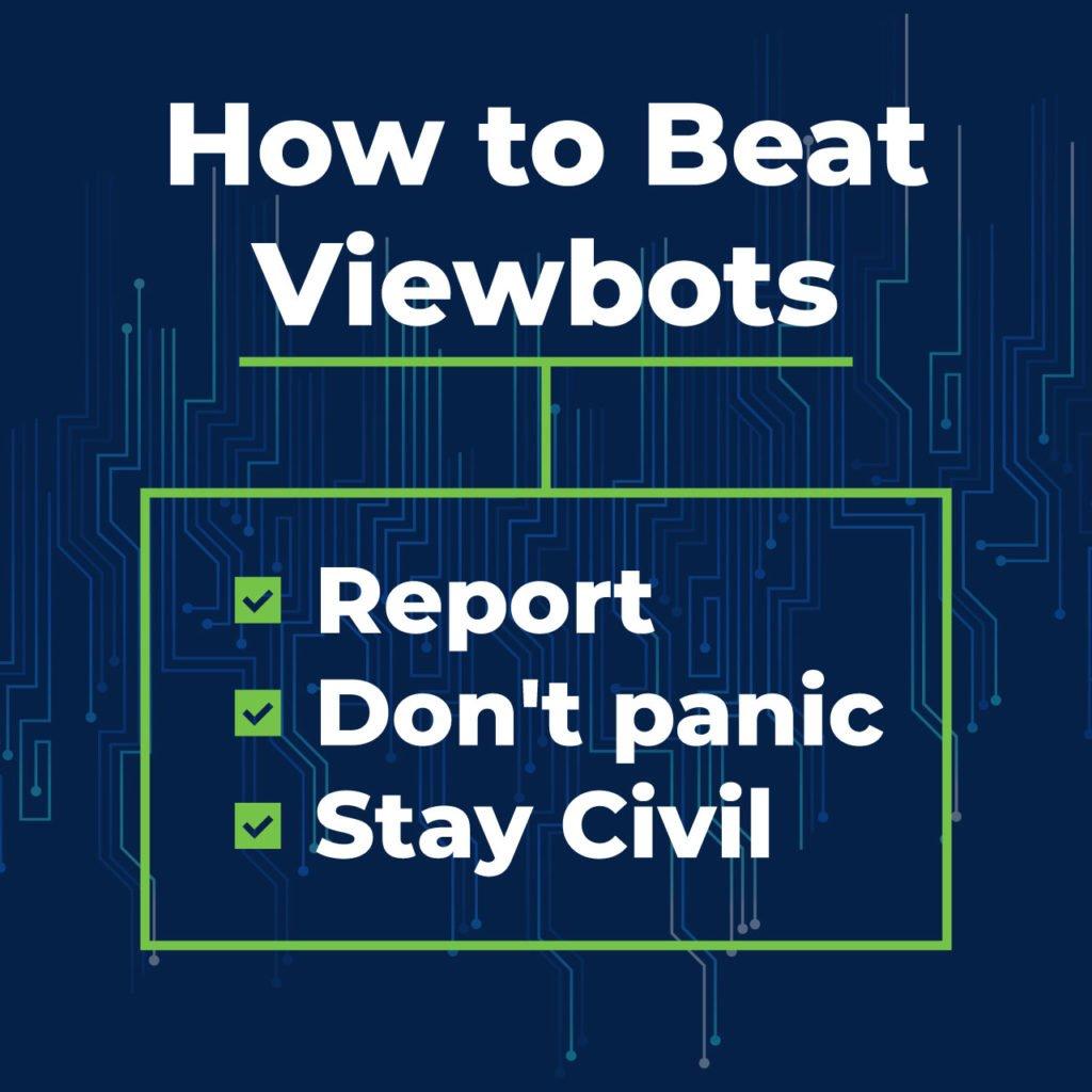 how to beat viewbotting