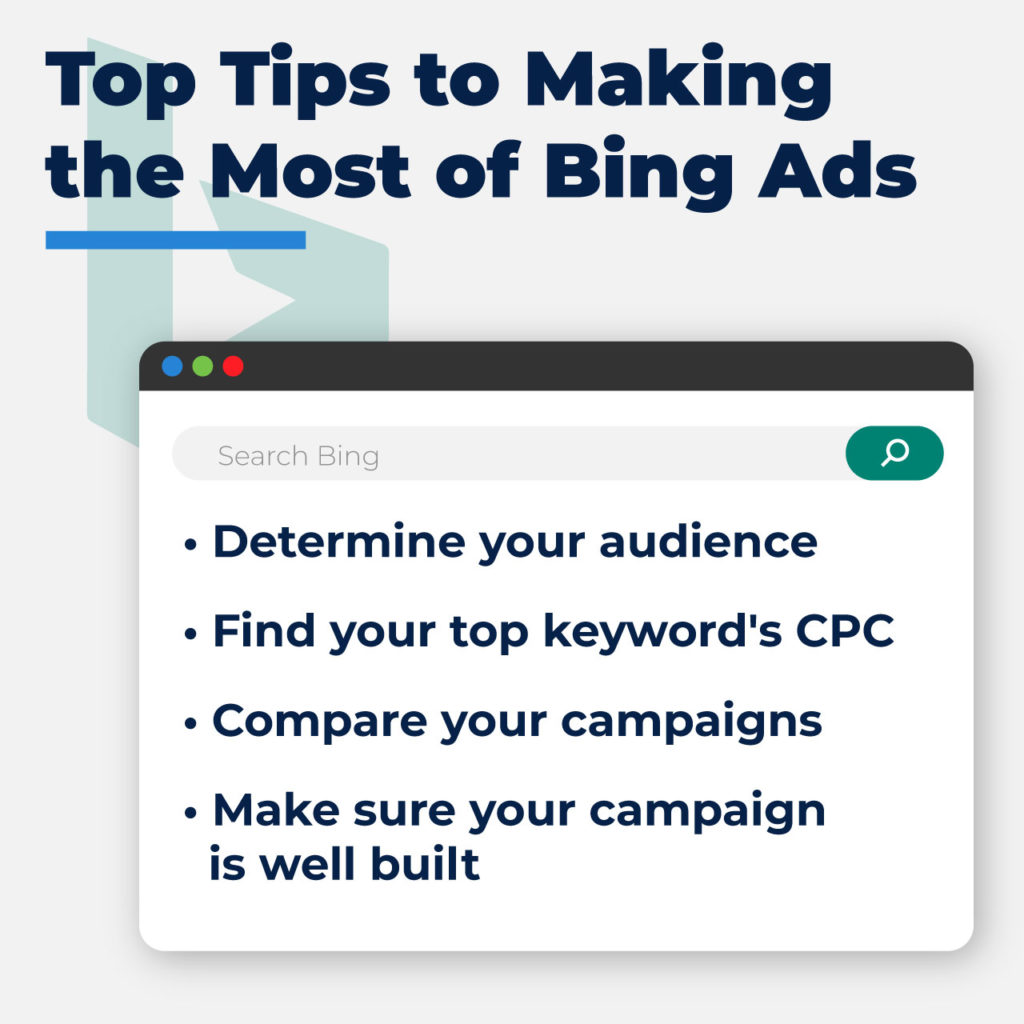 Top Tips for Bing Ads