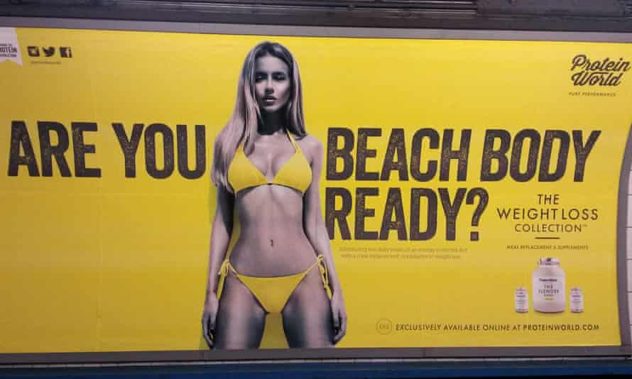 Controversial Ad Protein World