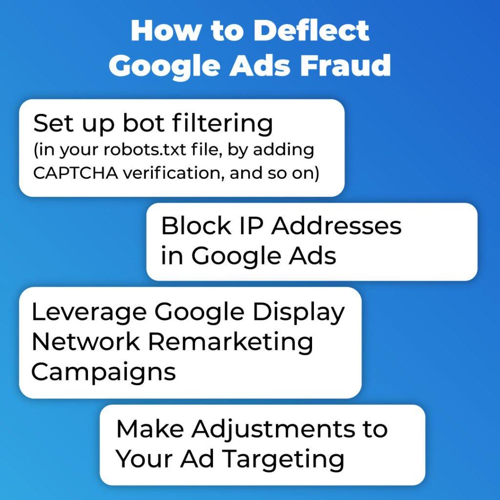 deflect google ads fraud