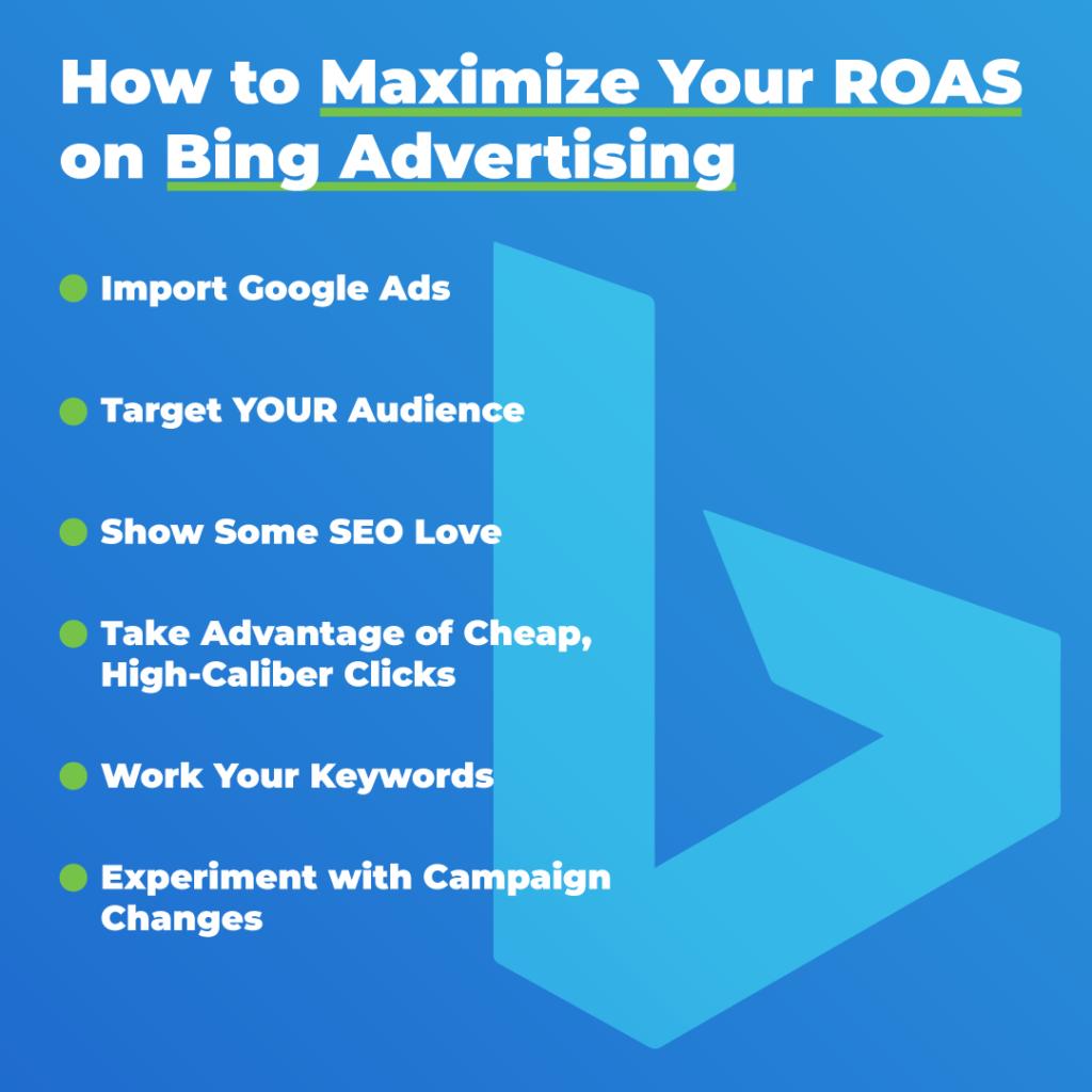 maximize Bing advertising