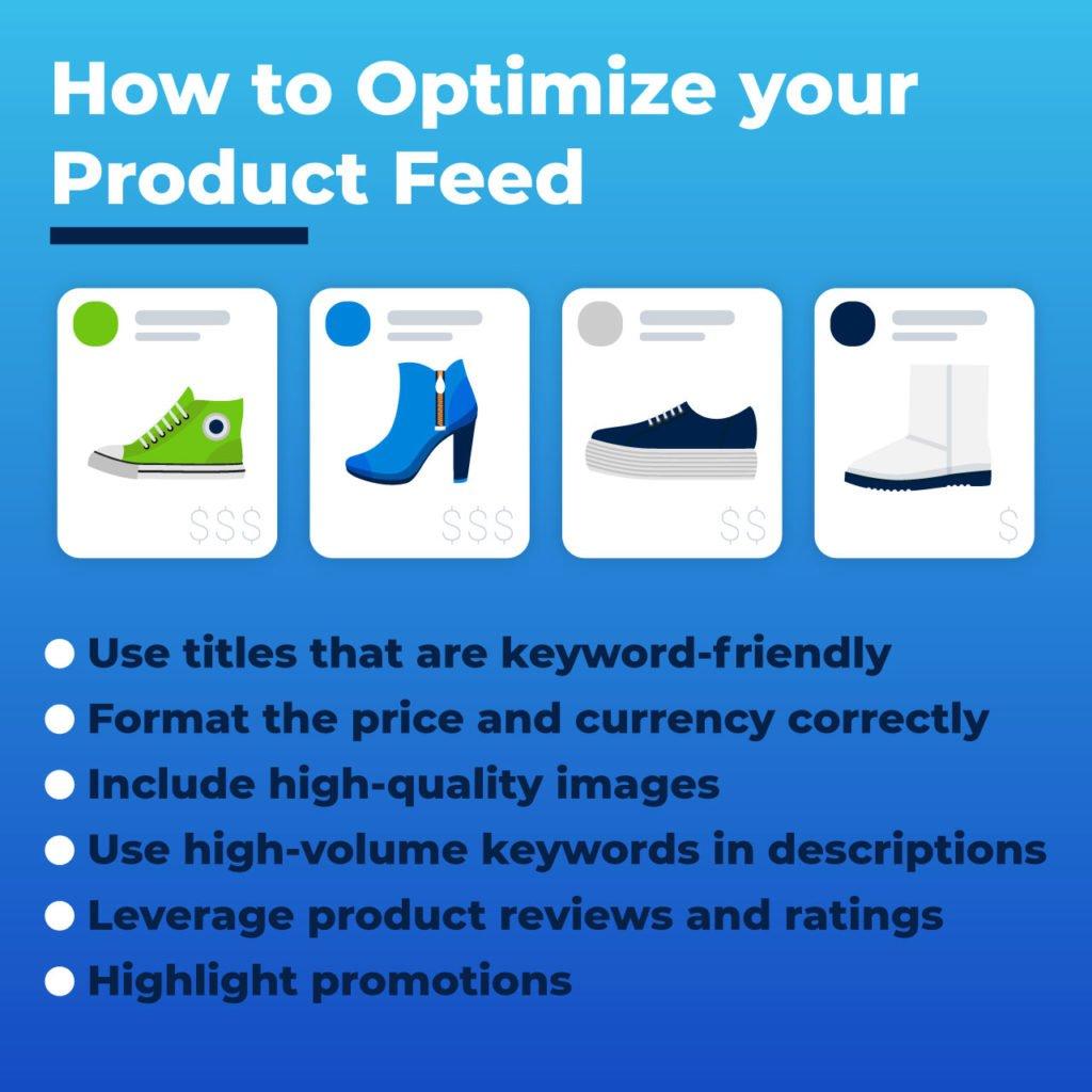 optimize product feed Google Shopping Ads