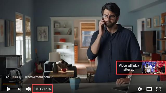 Non Skippable Youtube Ad