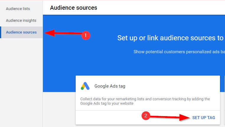 Retargeting Campaign Audience Sources