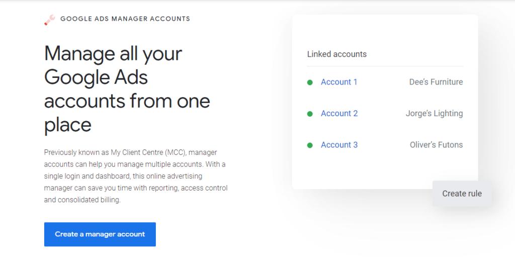 My Client Center Google