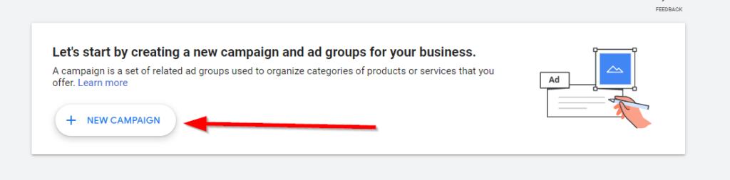 Start a Google Ads Campaign