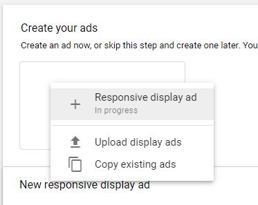 Google Display responsive ads