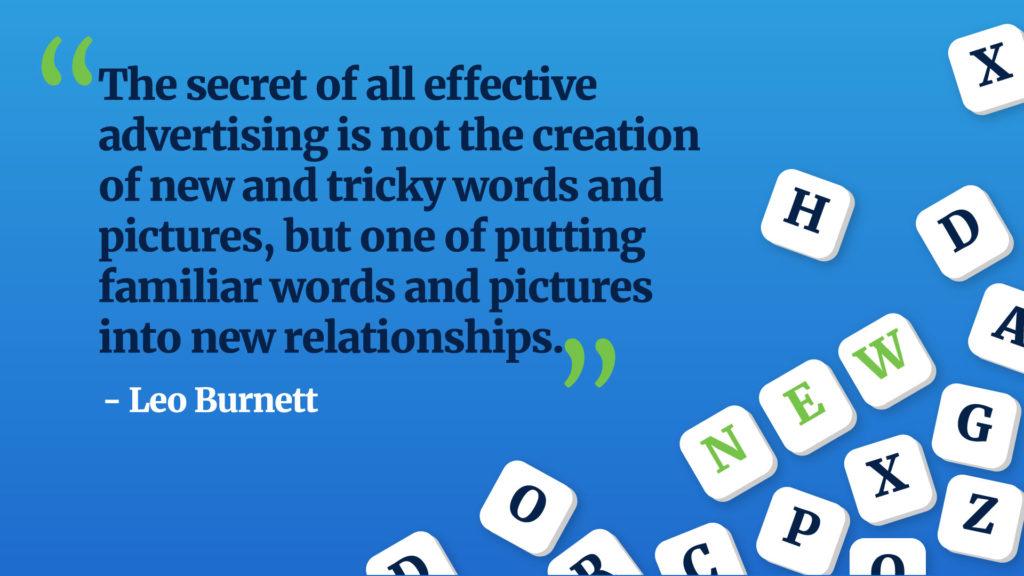 Leo Burnett Quote Advertising