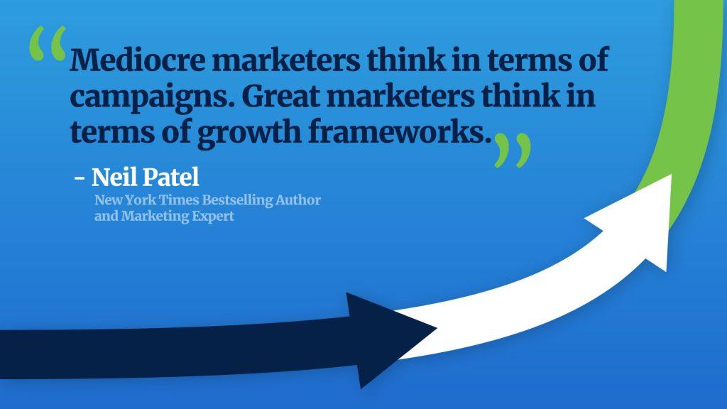Neil Patel quote on marketing