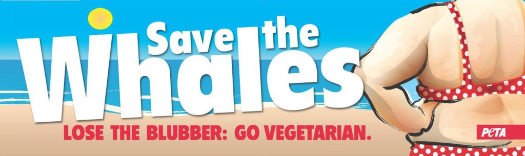 save the whales ad