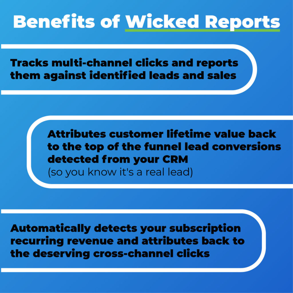 benefits of wicked reports