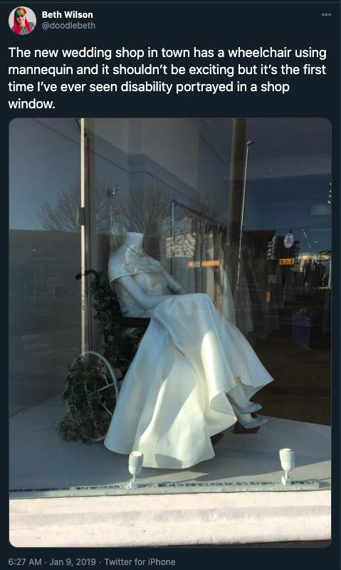 The White Collection Bridal Boutique Inclusiveness
