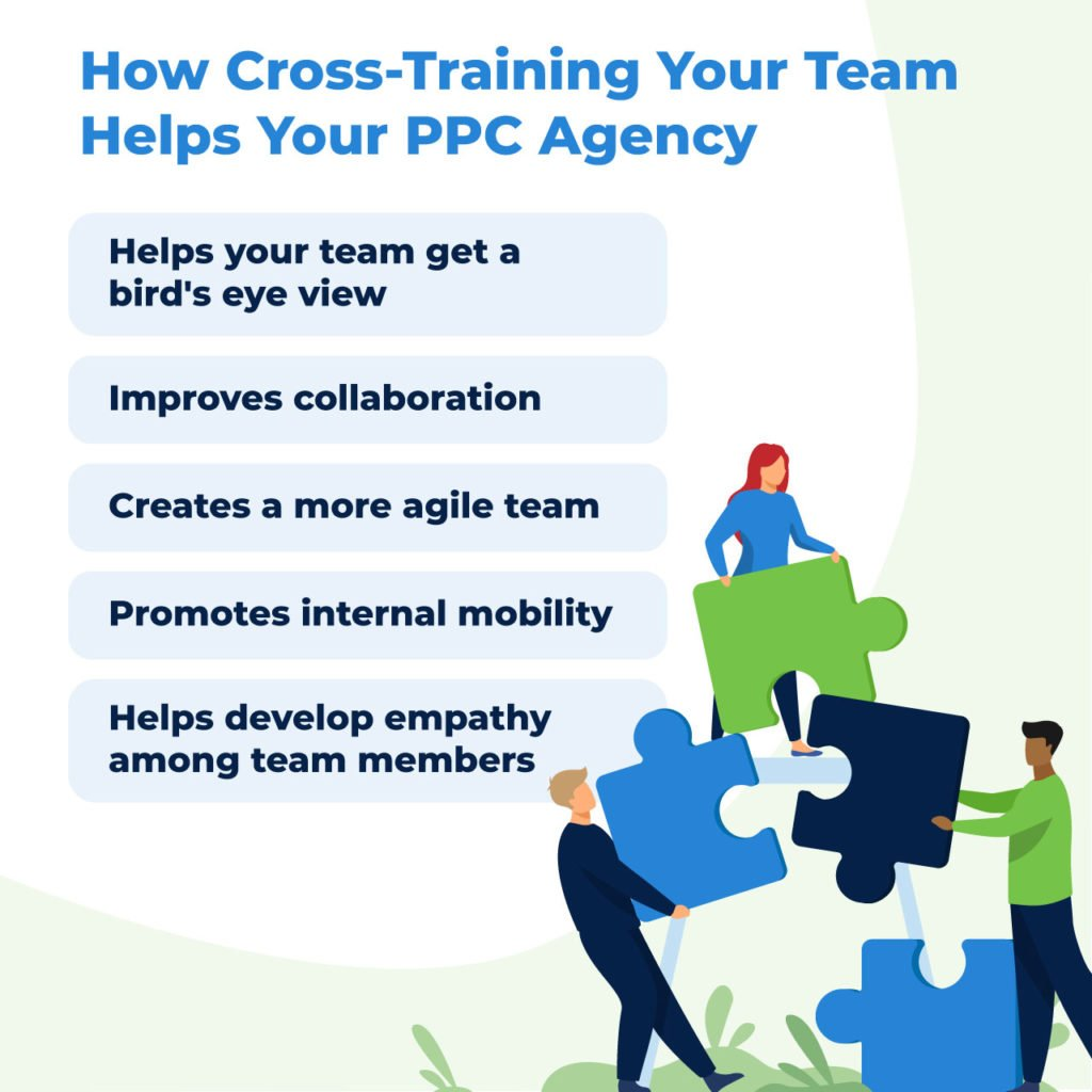 benefits of cross-training talent in your marketing agency