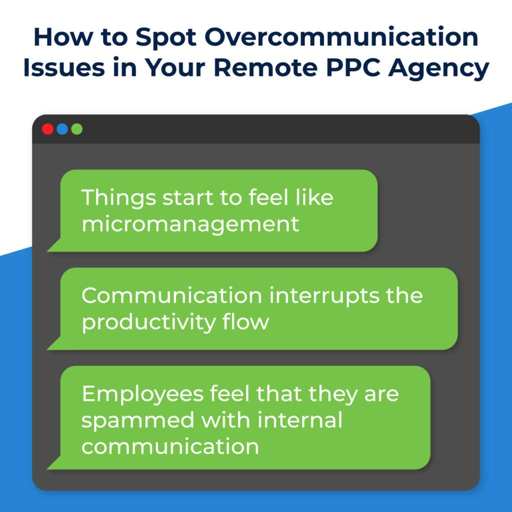 how to spot overcommunication in your PPC agency
