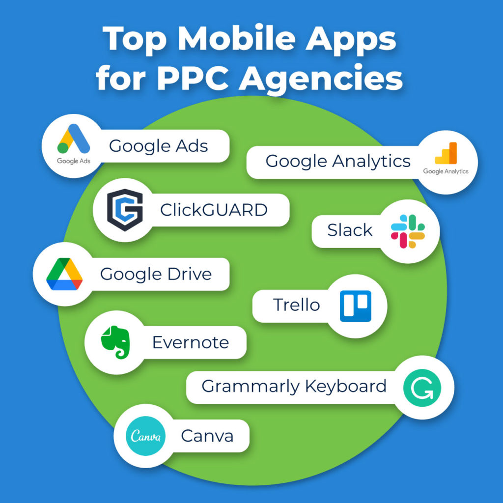 top mobile apps for ppc agencies